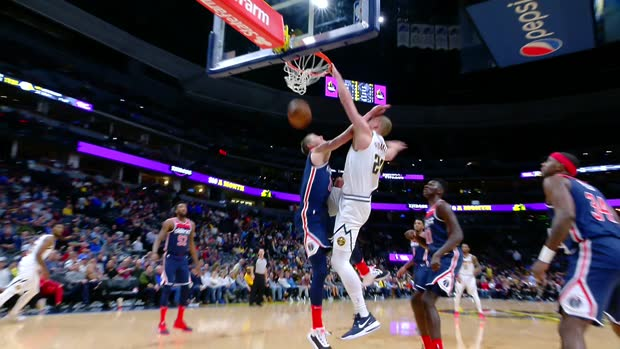 Dunk of the Night: Mason Plumlee