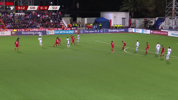 EM-Quali: Gibraltar - Schweiz | DAZN Highlights