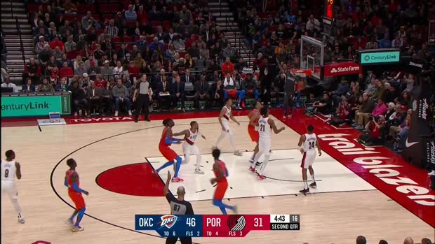 WSC: Dennis Schroder (21 points) Highlights vs. Portland Trail Blazers