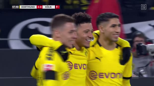 Best-of Bundesliga: Top 10 Tore von Jadon Sancho 2019/20 | DAZN