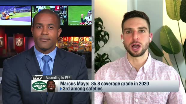 PFF's George Chahrouri: Jets 'have to' find way to keep Marcus Maye