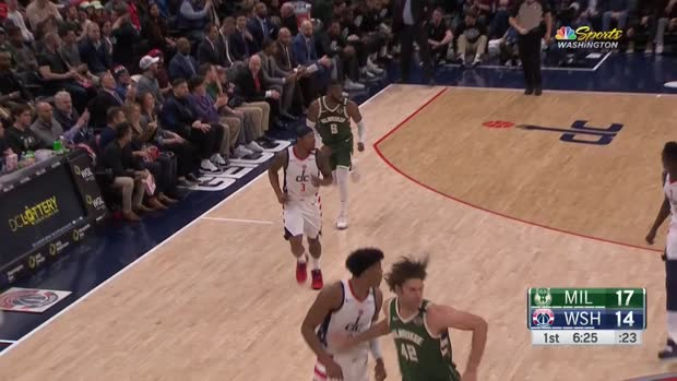 WSC: Bradley Beal 3-pointers in Washington Wizards vs. Milwaukee Bucks