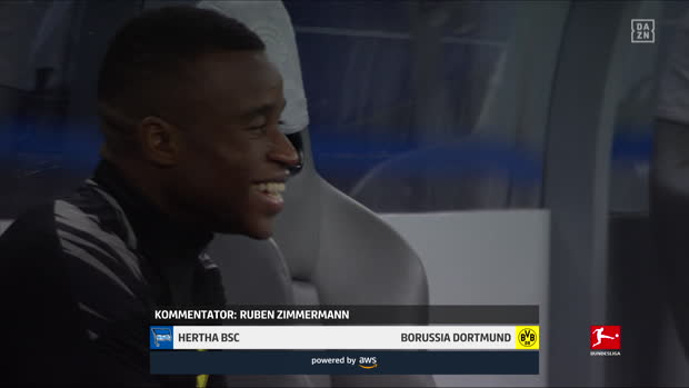 Bundesliga: Hertha BSC Berlin - Borussia Dortmund | DAZN Highlights