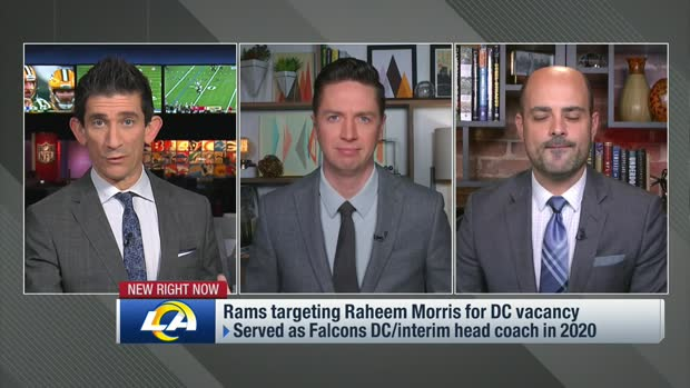 Garafolo: 'Looks like' Raheem Morris will be Rams' new defensive coordinator