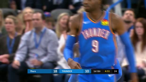 WSC: Dennis Schroder (8 points) Highlights vs. Philadelphia 76ers
