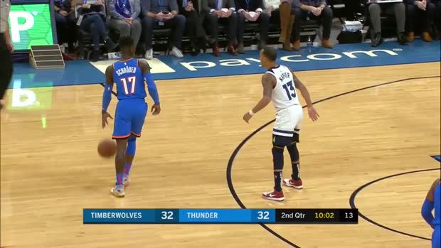 WSC: Dennis Schroder (25 points) Highlights vs. Minnesota Timberwolves