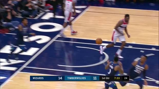WSC: Bradley Beal with 44 Points vs. Minnesota Timberwolves