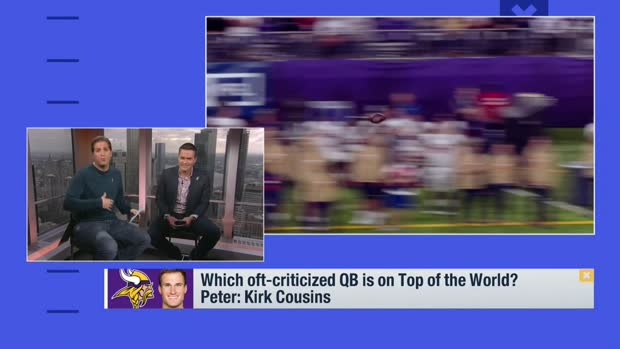 Peter Schrager: This is the best moment of Kirk Cousins' career
