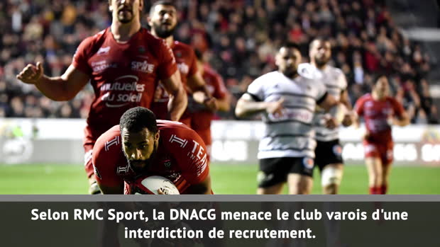 Top 14 : Top 14 - Transferts : Toulon interdit de recrutement ?