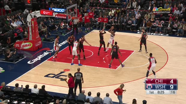 GAME RECAP: Wizards 126, Bulls 114
