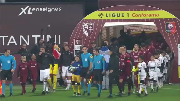 Ligue 1: Metz - Rennes | DAZN Highlights