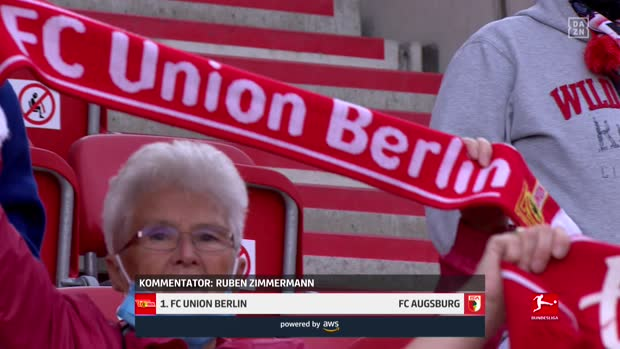 Bundesliga: 1. FC Union Berlin - FC Augsburg | DAZN Highlights