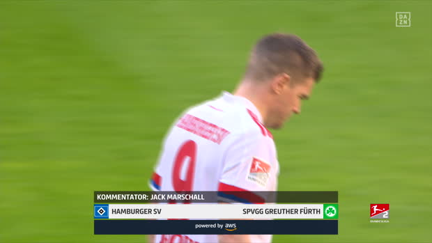 2. Bundesliga: Hamburger SV - SpVgg Greuther Fürth | DAZN Highlights