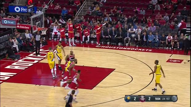 WSC: James Harden with 44 Points vs. Indiana Pacers
