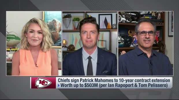 Pelissero breaks down Mahomes' 117-page contract