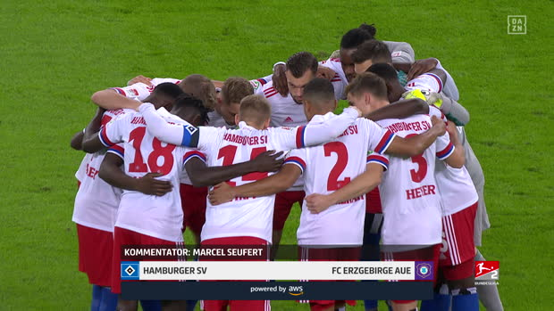 2. Bundesliga: Hamburger SV - FC Erzgebirge Aue | DAZN Highlights
