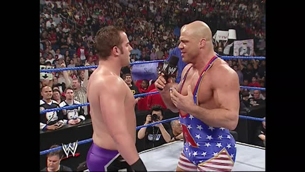 Kurt Angle vs. Roderick Strong - Kurt Angle Invitational: SmackDown, Jan. 13, 2005