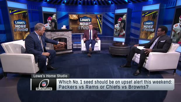 'NFL GameDay Morning': Which No. 1 seed could be upset in Divisional Round?