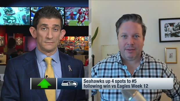 Dan Hanzus: Why Seahawks are up four spots in Week 13 Power Rankings