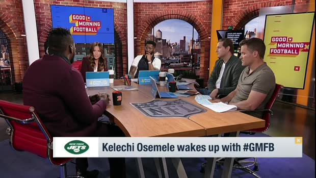 Video New York Jets Offensive Guard Kelechi Osemele On Facing Oakland Raiders In 2019 I M Stopping Everybody That Comes My Way
