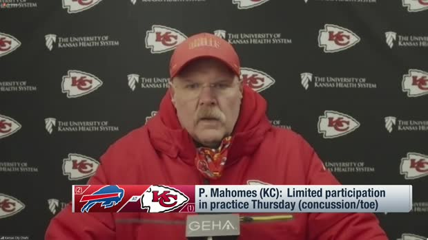 Andy Reid provides updates on Patrick Mahomes, Bashaud Breeland