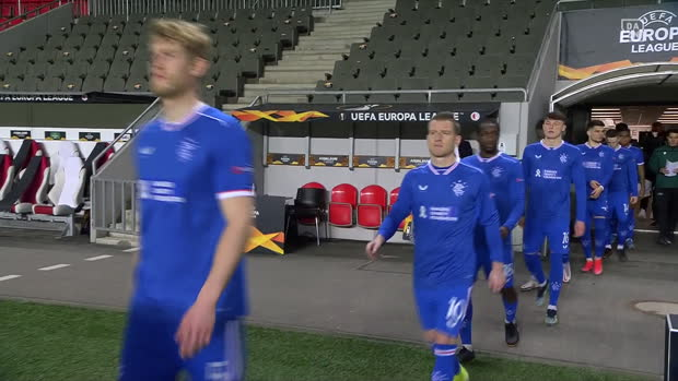 UEFA Europa League: Slavia Prag - Rangers | DAZN Highlights
