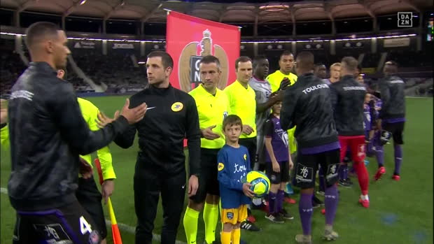 Ligue 1: Toulouse - Nizza | DAZN Highlights
