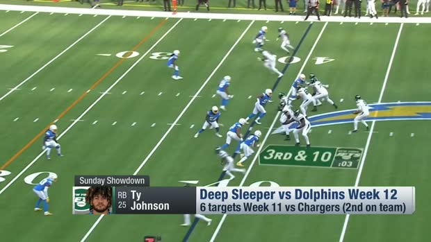 Michael F. Florio's deep sleeper for Week 12