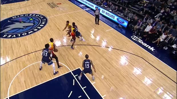 WSC: Donovan Mitchell with 30 Points vs. Minnesota Timberwolves