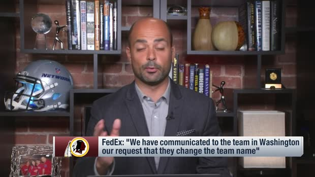 Garafolo: Washington sponsor FedEx has asked team to change name