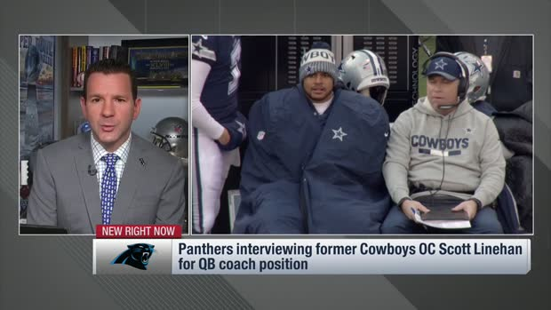 NFL Network Insider Ian Rapoport: Carolina Panthers interviewing former Cowboys OC Scott Linehan for quarterback coach