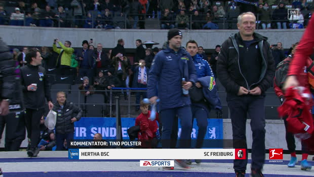 Bundesliga: Hertha BSC - SC Freiburg | DAZN Highlights