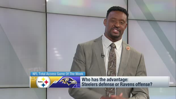 Does BAL offense or PIT defense have the edge? McGinest weighs in