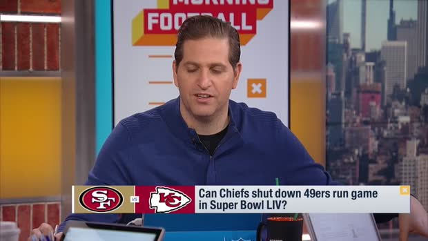 Can the Kansas City Chiefs shut down the San Francisco 49ers' run game?