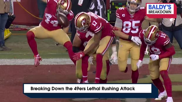 Breaking down the 49ers' lethal rushing attack | Baldy's Breakdowns