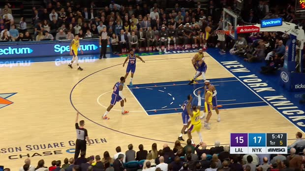 GAME RECAP: Lakers 100, Knicks 92