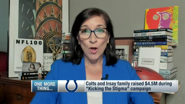 Battista: Colts, Irsay family raised $4.5M during 'Kicking the Stigma' campaign
