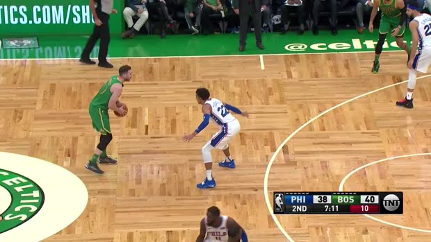 WSC: Daniel Theis (16 points) Highlights vs. Philadelphia 76ers