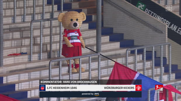 2. Bundesliga: 1. FC Heidenheim - Würzburger Kickers | DAZN Highlights