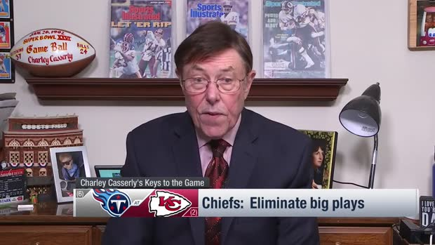 NFL Network's Charley Casserly's keys to a Kansas City Chiefs win over the Titans