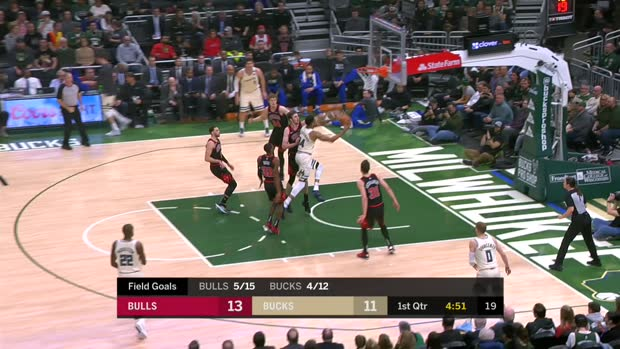 GAME RECAP: Bucks 111, Bulls 98