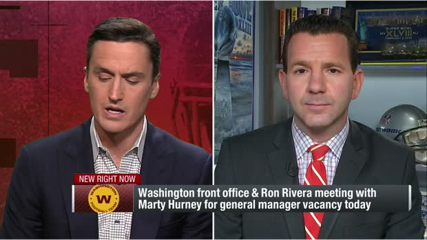 Rapoport: Marty Hurney has emerged as 'favorite' to become Washington's GM