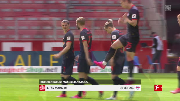 Bundesliga: 1. FSV Mainz 05 - RB Leipzig | DAZN Highlights