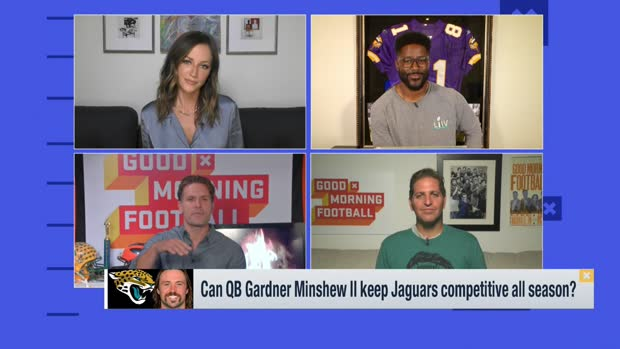 Burleson: Minshew will be the 'face of the franchise' for a long time