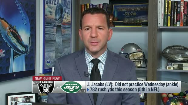 Rapoport: Raiders haven't 'given up hope' on Josh Jacobs playing Sunday vs. Jets