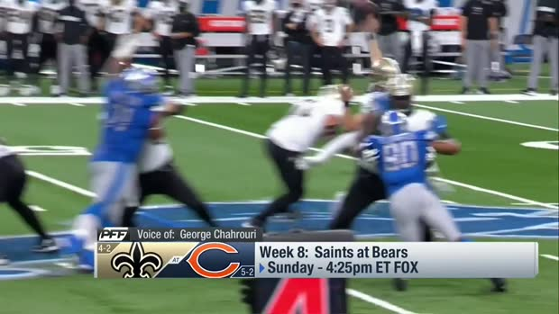 Pro Football Focus previews Saints-Bears Week 8 matchup