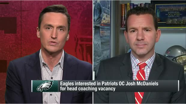 Rapoport: Eagles' meeting with Josh McDaniels for HC position seems to have gone 'really well'