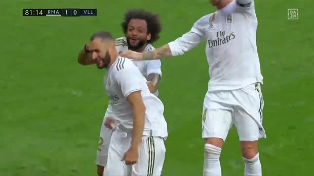 Best-of La Liga: Top 5 Tore von Karim Benzema 2019/20 | DAZN