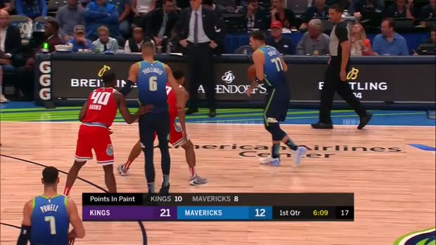 WSC: Tim Hardaway Jr. 3-pointers in Dallas Mavericks vs. Sacramento Kings