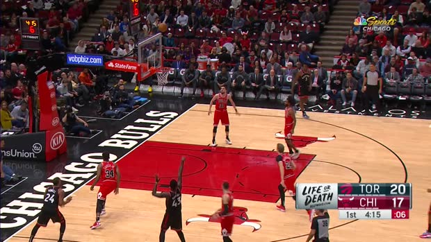 GAME RECAP: Raptors 93, Bulls 92